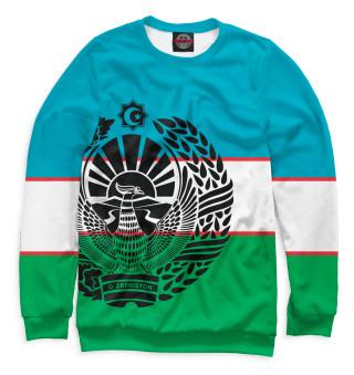 Одежда с принтом Узбекистан (853723)