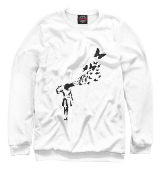 Одежда с принтом Banksy (557228)