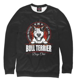 Одежда с принтом Bull terrier
