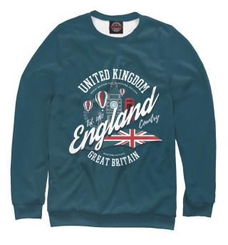 Одежда с принтом England