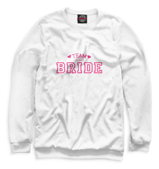 Одежда с принтом Team bride