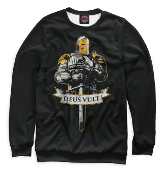 Одежда с принтом Deus vult (975252)