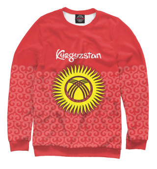 Одежда с принтом Кыргызстан (688378)