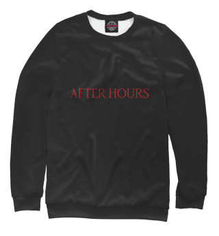Одежда с принтом The Weeknd After Hours