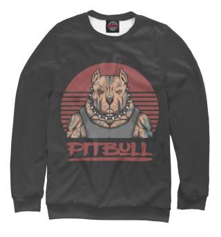 Одежда с принтом Pitbull gangster