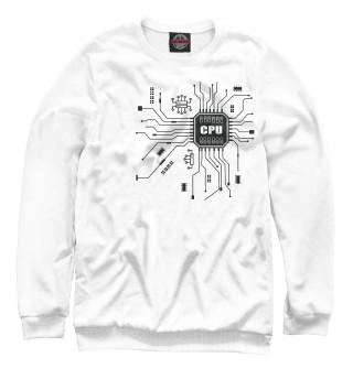 Одежда с принтом CPU