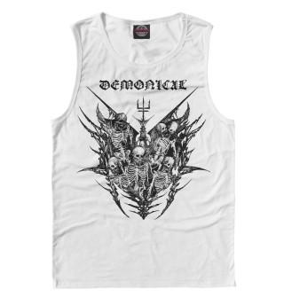 Одежда с принтом Demonical