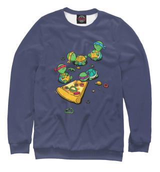 Одежда с принтом Черепашки и пицца