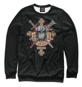 Одежда с принтом Deus vult (652651)