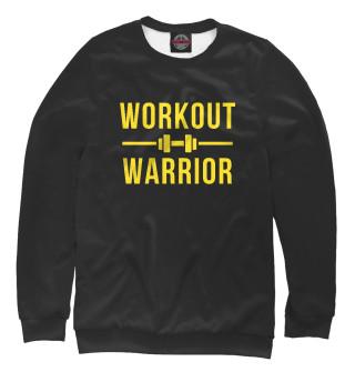 Одежда с принтом Workout warrior