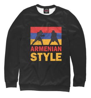 Одежда с принтом Армянский стиль