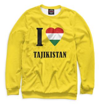 Свитшот, Футболка, Майка, Майка борцовка, Худи, Бомбер, Шорты, Лонгслив, Штаны, Спортивный костюм  I love Tajikistan (767040)