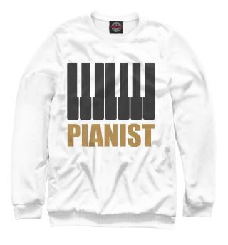 Одежда с принтом Pianist