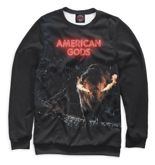 Одежда с принтом Американские боги (313034)