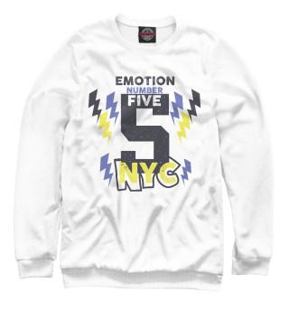 Одежда с принтом Emotion number five NYC 5