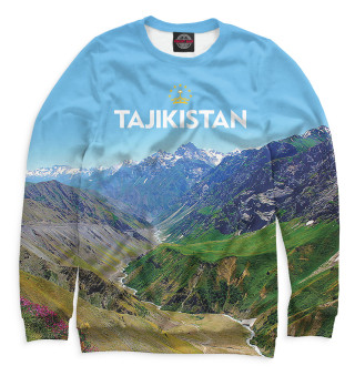 Одежда с принтом Tajikistan (810730)