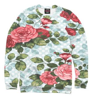 Одежда с принтом Розы паттерн