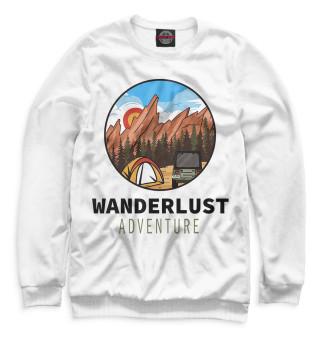 Одежда с принтом Wanderlust (858175)
