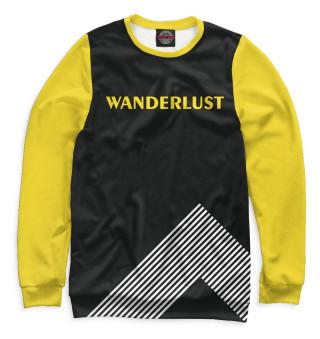 Одежда с принтом Wanderlust (404016)