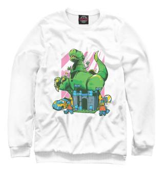 Одежда с принтом Лего динозавр