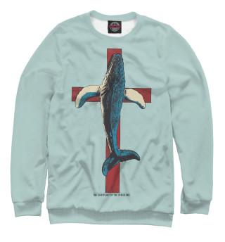 Одежда с принтом Защитим китов