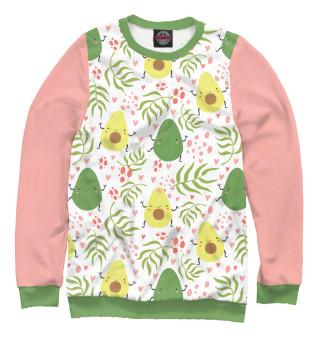 Одежда с принтом Avocado life