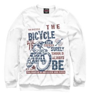 Одежда с принтом Велосипед в жизни каждого!