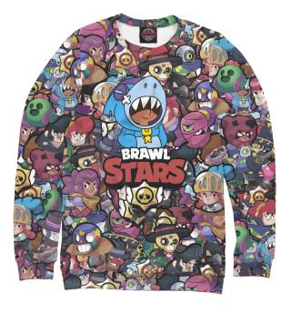 Одежда с принтом Brawl Stars: Leon Shark