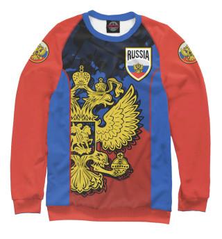 Одежда с принтом Russia