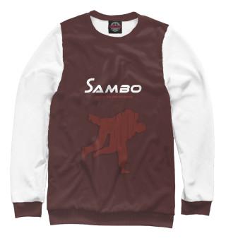 Одежда с принтом Спорт самбо