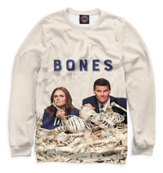 Одежда с принтом Bones (156909)
