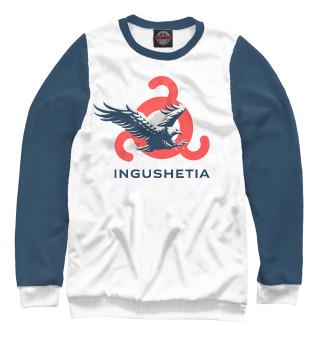 Одежда с принтом Ингушетия (орел)