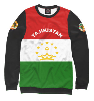 Свитшот, Футболка, Майка, Майка борцовка, Худи, Лонгслив, Штаны, Спортивный костюм, Маска  Tajikistan (473021)