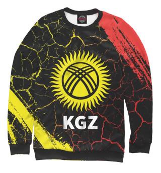Одежда с принтом Киргизия (643083)