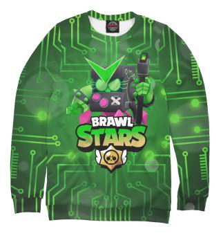 Одежда с принтом Brawl Stars Virus 8-Bit (640857)