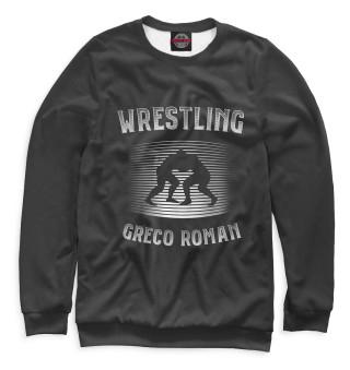 Одежда с принтом Греко римская борьба (730221)
