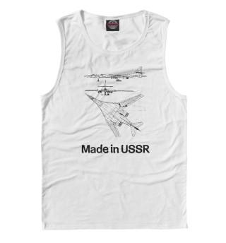 Одежда с принтом Авиация Made in USSR