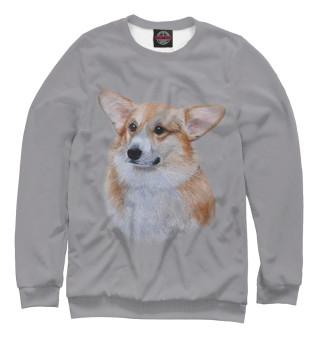 Одежда с принтом Corgi dog (324433)