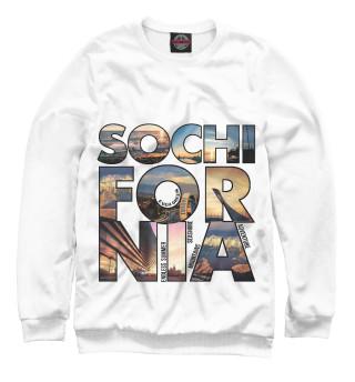 Одежда с принтом Sochifornia