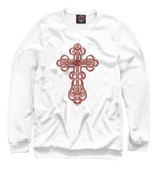 Одежда с принтом Православный крестик