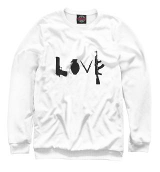 Одежда с принтом Banksy LOVE
