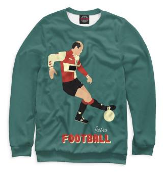 Одежда с принтом Retro football