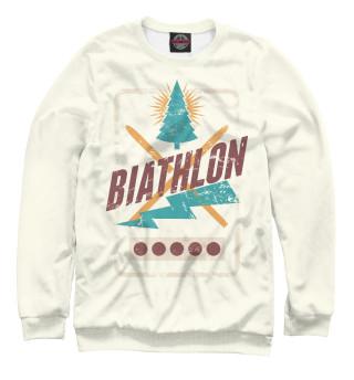 Одежда с принтом Biathlon
