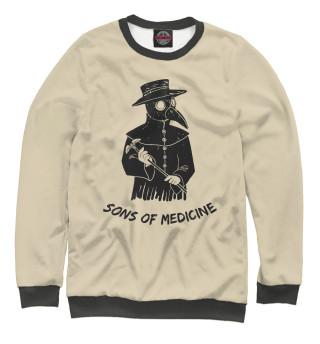 Одежда с принтом Sons of medicine
